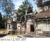Камбоджа, один из храмов Анкора (2009 год). Стоковое фото, фотограф Светлана Степачёва / Фотобанк Лори