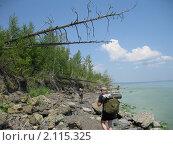 Купить «Поход по берегу Волги», фото № 2115325, снято 9 июля 2010 г. (c) Герман Закиров / Фотобанк Лори