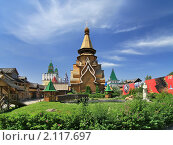 Купить «Храм Святителя Николая, Измайловский кремль, Москва», фото № 2117697, снято 27 июня 2010 г. (c) Fro / Фотобанк Лори