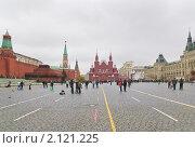 Купить «Вид на Красную площадь», эксклюзивное фото № 2121225, снято 24 октября 2009 г. (c) Алёшина Оксана / Фотобанк Лори