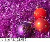 Рождественские украшения. Стоковое фото, фотограф Косторная Наталья / Фотобанк Лори