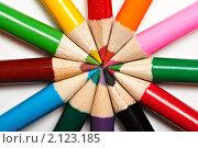 Купить «Цветные карандаши», фото № 2123185, снято 28 октября 2010 г. (c) Константин Тавров / Фотобанк Лори