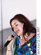 Певица Тамара Гвердцители (2010 год). Редакционное фото, фотограф Василий Кореньков / Фотобанк Лори