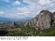 Вид на Фессалийскую равнину. Стоковое фото, фотограф Максим Шагалов / Фотобанк Лори