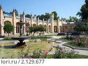 Купить «Кисловодск. Нарзанная галерея», фото № 2129677, снято 4 августа 2010 г. (c) Pukhov K / Фотобанк Лори