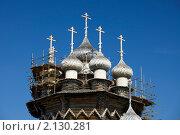 Купить «Карелия, Кижи. Покровская церковь», фото № 2130281, снято 19 июля 2010 г. (c) Олег Титов / Фотобанк Лори