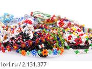 Купить «Изделия из бисера», фото № 2131377, снято 9 ноября 2010 г. (c) Ирина Смирнова / Фотобанк Лори