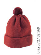 Купить «Шапка вязаная», фото № 2132569, снято 9 ноября 2010 г. (c) Дмитрий Грушин / Фотобанк Лори