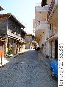 Несебр (Болгария), улочка в старом городе (2010 год). Редакционное фото, фотограф Татьяна Юни / Фотобанк Лори