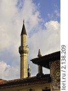 Купить «Ханский дворец - бывшая резиденция крымских ханов. Крым. Бахчисарай», фото № 2138209, снято 27 июня 2019 г. (c) T&B / Фотобанк Лори