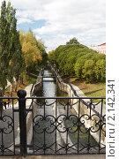 Купить «Канал в Райском саду. Пермь. Россия», фото № 2142341, снято 5 сентября 2010 г. (c) Андрей Щекалев (AndreyPS) / Фотобанк Лори