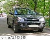 Купить «Автомобиль «Хёндэ» (Hyundai), Корея», эксклюзивное фото № 2143685, снято 10 сентября 2010 г. (c) lana1501 / Фотобанк Лори
