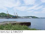 Порт Зарубино. Приморский край, Хасанский р-н (2010 год). Стоковое фото, фотограф Евгений Ковешников / Фотобанк Лори