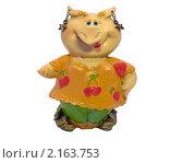 Свинка-копилка (девочка) (2010 год). Редакционное фото, фотограф Дмитрий Батталов / Фотобанк Лори