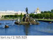 Петродворец, фонтаны верхнего парка (2010 год). Редакционное фото, фотограф Александр Герасименко / Фотобанк Лори