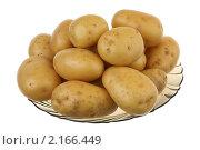 Купить «Картофель», фото № 2166449, снято 25 ноября 2010 г. (c) Игорь Веснинов / Фотобанк Лори