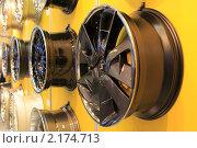 Автомобильные диски (2010 год). Редакционное фото, фотограф Василий Шульга / Фотобанк Лори