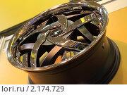 Автомобильный диск (2010 год). Редакционное фото, фотограф Василий Шульга / Фотобанк Лори