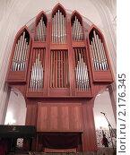 Купить «Малый орган Кафедрального собора в г.Калининграде», фото № 2176345, снято 28 августа 2010 г. (c) Маргарита Руденко / Фотобанк Лори