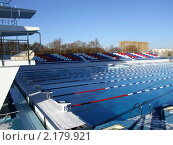 Купить «Бассейн училища Олимпийского резерва города Пенза», фото № 2179921, снято 24 ноября 2007 г. (c) Григорий Белоногов / Фотобанк Лори
