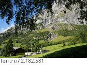 Лейкербад, Швейцария (Leukerbad) (2010 год). Стоковое фото, фотограф Natalia Nemtseva / Фотобанк Лори