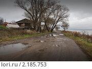 Сельский пейзаж. Стоковое фото, фотограф Дмитрий Моисеевских / Фотобанк Лори