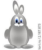 Купить «Серый заяц», иллюстрация № 2187873 (c) Александр Черезов / Фотобанк Лори