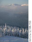 Купить «Восточная Богемия. Зимний пейзаж», фото № 2188153, снято 7 января 2010 г. (c) Gagara / Фотобанк Лори