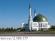 Мечеть. Город Кемерово (2010 год). Стоковое фото, фотограф Олег Новожилов / Фотобанк Лори