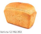 Купить «Буханка белого хлеба», эксклюзивное фото № 2192353, снято 3 декабря 2010 г. (c) Юрий Морозов / Фотобанк Лори