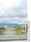Вид города Сочи, набережная (2010 год). Стоковое фото, фотограф Екатерина Давыдова / Фотобанк Лори