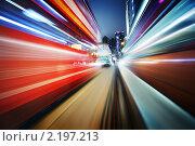 Купить «Размытый городской фон», фото № 2197213, снято 17 ноября 2009 г. (c) Константин Сутягин / Фотобанк Лори