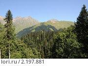 Абхазия. Горный пейзаж. Стоковое фото, фотограф Еремин Владимир / Фотобанк Лори