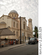 Церковь на Кипре (2010 год). Редакционное фото, фотограф Дмитрий Моисеевских / Фотобанк Лори