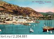 Купить «Монте-Карло. Общий вид на порт с моря. Монако», фото № 2204881, снято 30 марта 2020 г. (c) Юрий Кобзев / Фотобанк Лори