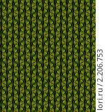 Купить «Абстрактный бесшовный зеленый узор», иллюстрация № 2206753 (c) Марина Рядовкина / Фотобанк Лори