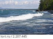 Озеро Байкал. Стоковое фото, фотограф Евгений Кузьмин / Фотобанк Лори
