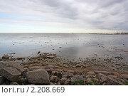 Купить «Хмурое Балтийское море», фото № 2208669, снято 18 августа 2010 г. (c) Емельянов Валерий / Фотобанк Лори