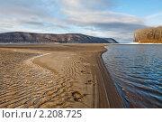 Обмелевшая Волга в Самарской области (2010 год). Редакционное фото, фотограф Николай Федорин / Фотобанк Лори
