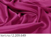 Купить «Фиолетовый атлас, фон», фото № 2209649, снято 4 апреля 2010 г. (c) Воронин Владимир Сергеевич / Фотобанк Лори