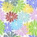 Бесшовный фон с цветами, иллюстрация № 2210477 (c) Ольга Дроздова / Фотобанк Лори