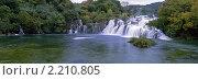 Водопад Krk, Хорватия. Стоковое фото, фотограф Leksele / Фотобанк Лори