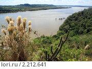 Купить «Вид на реку Парана на границе Аргентины и Парагвая», фото № 2212641, снято 8 марта 2010 г. (c) Валерий Шанин / Фотобанк Лори