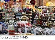 Купить «В магазине Новогодних игрушек», эксклюзивное фото № 2214445, снято 12 декабря 2010 г. (c) Олег Хархан / Фотобанк Лори