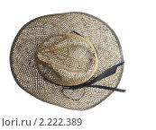 Соломенная шляпа для ковбоев. Стоковое фото, фотограф Венюков Вячеслав / Фотобанк Лори