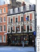 Лондонский паб шерлок холмс (2009 год). Редакционное фото, фотограф Валерия Паули / Фотобанк Лори