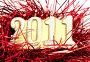 Свеча 2011 Счастливого Нового года!, фото № 2229913, снято 19 декабря 2010 г. (c) Денис Дряшкин / Фотобанк Лори