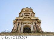 Руины строй церкви. Стоковое фото, фотограф Погорелов Владимир / Фотобанк Лори