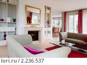 Гостиная с современной мебелью. Стоковое фото, фотограф Игорь Бородин / Фотобанк Лори