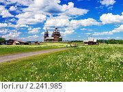 Купить «Деревянная архитектура в Кижах», фото № 2241985, снято 17 июня 2006 г. (c) Михаил Марковский / Фотобанк Лори